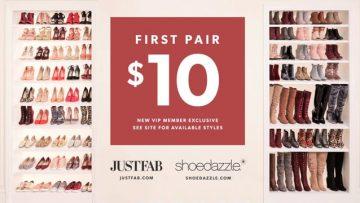 JustFab & ShoeDazzle